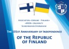 We celebrate the Independence Day of the Republic of Finland