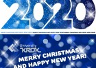 Congratulations on New Year 2020 and Merry Christmas from Rector of «KROK» University