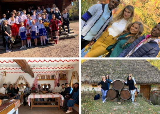 Foreigners' Acquaintance with Ukrainian Culture