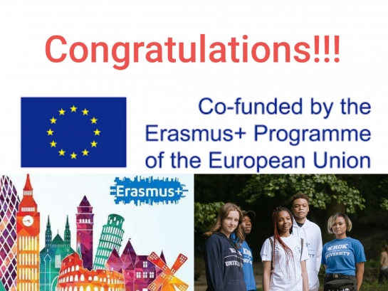 Erasmus+ Grant Winning of Project INTERADIS «International Students Adaptation and Integration»