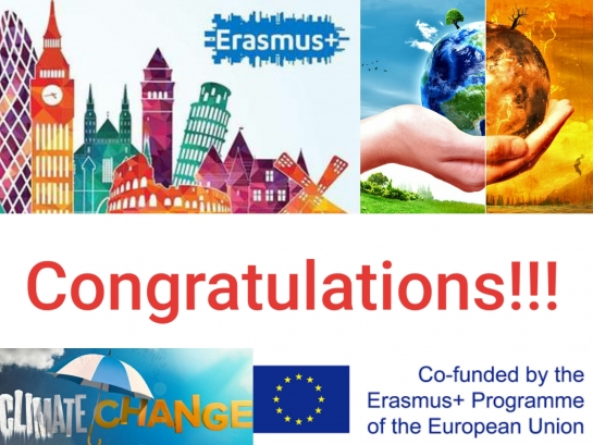 Erasmus+ grant winning of Project CLIMAN «Synergy of Educational, Scientific, Management and Industrial Components for Climate Management and Climate Change Prevention»