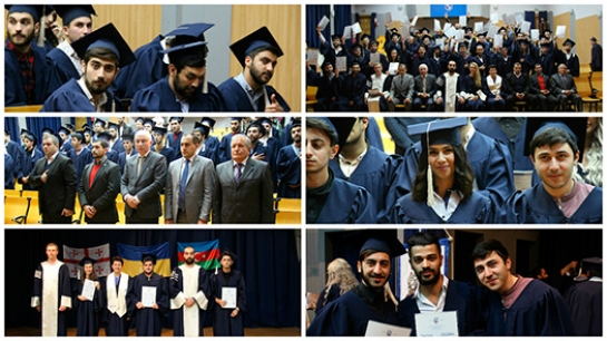 Congratulations to the students from Georgia and Azerbaijan, who obtained Bachelor Degree!