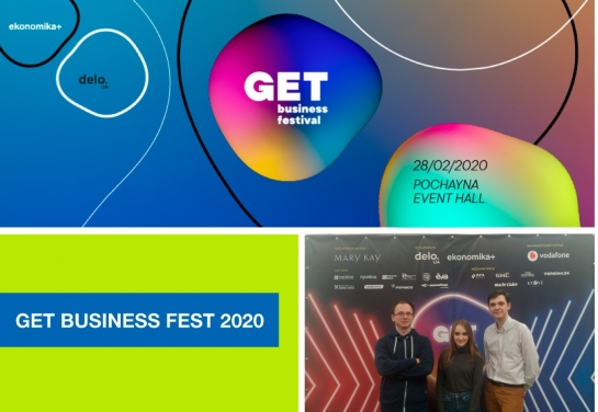 Students Majoring in Computer Sciences Attended «GET BUSINESS FEST 2020»