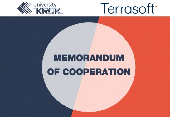 Memorandum of Cooperation Between «KROK» University and LLC «Terrasoft»