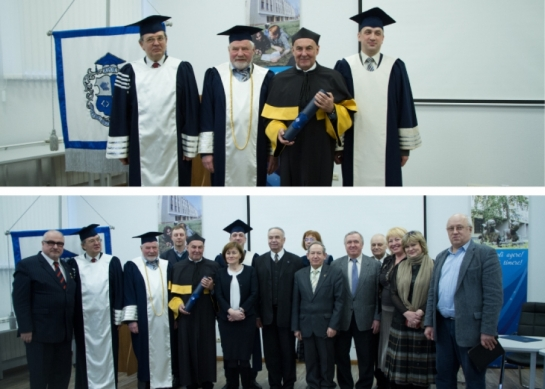 Conferring Honorary Doctor's Degree