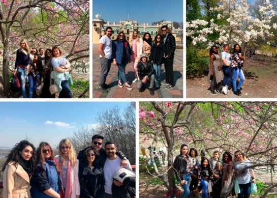 Foreign students got acquainted with Kyiv (10.05.2019)