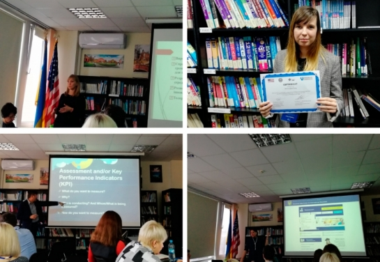 «KROK» University participated in a session on Internationalization Leadership Academy