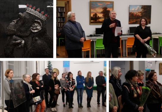 Grand Opening of Exhibition of Famous Ukrainian Artists