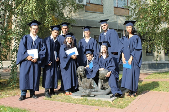 The graduation of students from Georgia and Azerbaijan