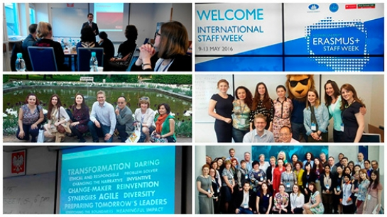 «KROK» University participated in International Week «Managing the Internationalization Processes»