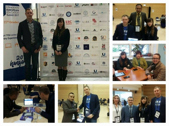 The representatives of «KROK» University participated in «European Education Summit»