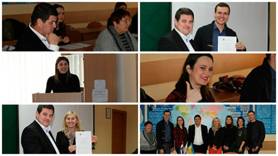 Final works defense of the students of Ukrainian-Dutch Double Degree Program